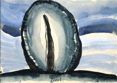 Tree, 1935 Arthur Dove (American, Watercolor, tempera, brush and ink on paper Heilbrunn Timeline of Art History Arthur Dove, Action Painting, Figure Painting, Watercolor Artists, Watercolor Paintings, Watercolors, Abstract Painters, Abstract Art, Modern Art