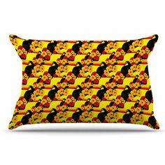 East Urban Home Love Toucans by Shirlei Patricia Muniz Pillow Sham Size: