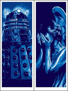 DOCTOR WHO Portrait Series by Tim Doyle — GeekTyrant
