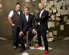 MasterChef Judges Graham Elliot, Gordon Ramsay and Joe Bastianich #MasterChef