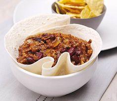 En underbart god chili serverad direkt från din Crock-Pot gryta.