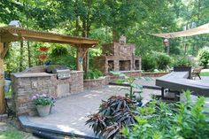 I would love to live in the home that has this backyard!