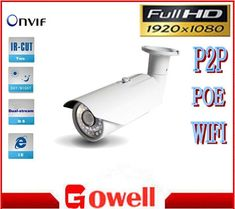 HD 1080P 2.0MP IP Camera support onvif  NVR ivms-4200 waterproof mobile surveillance Security P2P,3DNR cctv camera