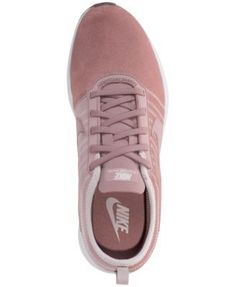 Nike Women's Dualtone Racer Se Casual Sneakers from Finish Line - Red 7.5