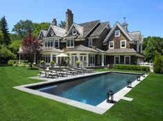 Shingle home in the Hamptons. I'll live here.