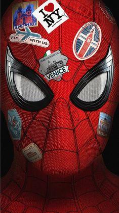 Spiderman Far from Home iPhone Wallpaper - Marvel Hero Marvel, Marvel Dc Comics, Marvel Avengers, Marvel Characters, Marvel Movies, Spiderman Kunst, Batman, Avengers Wallpaper, Boxing Day
