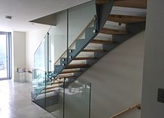 A Model 500 modern staircase for a project in Devon.