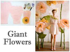 die besten 25 riesige blumen ideen auf pinterest papierblumen selbstgemacht riesige. Black Bedroom Furniture Sets. Home Design Ideas