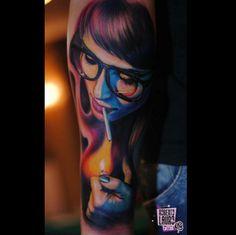 Tatouage réalisé par Robert Lauro