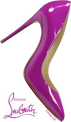 Emmy DE * Christian Louboutin #purple