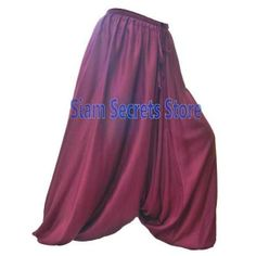 Stylish Maroon Harem Pants Soft and Light Baggy Sarouel Trousers Harem Pants, Trousers, Smart Casual Wear, Soft Light, Elegant Woman, Summer Outfits, Stylish, Lady, Skirts