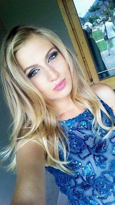 Make up per la modella Benaida Jakic.