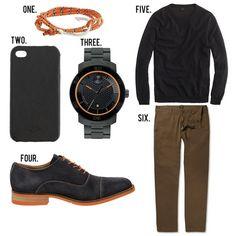 GentlemanStanding Style Board featuring #Miansai, #JCrew, #Movado, #DonaldPliner
