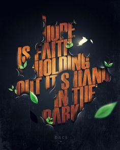 Typography by Fabian De Lange - http://www.inspirefirst.com/2012/10/04/typography-fabian-de-lange/