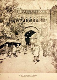 City Gateway Lahore, Punjab.