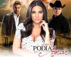 """La que no podía amar es una telenovela mexicana producida por José Alberto Castro para Televisa, historia basada en la radionovela """"La muje..."""