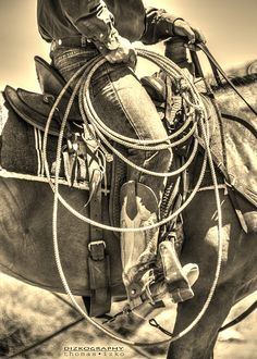 When you have put in the hours sitting in the saddle, working cattle, riding long hard rids to make sure that every thing is healthy and has water, then you are a true cowboy. It takes more the just clothes