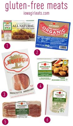 My favorite gluten-free products including snacks, pantry staples, and meats!