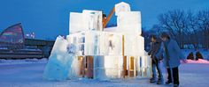 Up-and-comers and established architects alike contribute designs for the city's artsy River Trail River Trail, Frank Gehry, Amazing Buildings, Artsy, January 27, Warm, Fine Art, Forks, Architecture