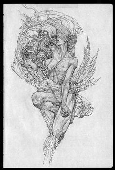 ArtStation - Drawing Note - 05, Jong Hwan - sekigan