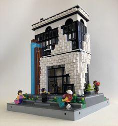 Casa Lego, Lego Moc, Brick Wall, Bookends, Gallery, Bricks, Legends, Toys, Building