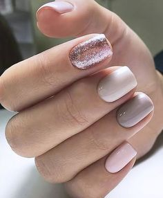 A manicure is a cosmetic elegance therapy for the finger nails and hands. A manicure could deal with just the hands, just the nails, or Perfect Nails, Gorgeous Nails, Cute Nails, Pretty Nails, Hair And Nails, My Nails, Fall Nails, Winter Nails, Teen Nails