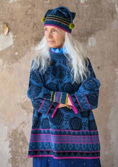 """Vanja"" cotton/wool sweater – ""Vanja"" - a Christmas treat – GUDRUN SJÖDÉN – Webshop, mail order and boutiques 