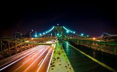 Brooklyn Bridge Nights Wallpaper