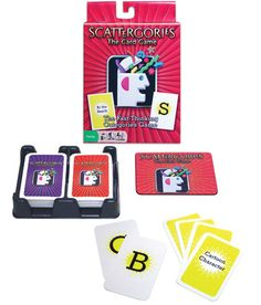 Board Games and Speech Therapy - Scattergories: The Card Game