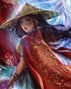 All Disney Princess including Raya in ROY THE ART amazing pictures