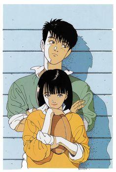 Reminds me of Akira style anime. Art And Illustration, Japanese Illustration, Illustrations, Character Illustration, Manga Drawing, Manga Art, Anime Art, Pretty Art, Cute Art