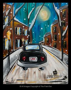 Boston Love Bug Painting - Jackie Schon, The Paint Bar