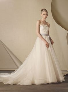 2435 gown from the 2014 Alfred Angelo collection, as seen on Bride.Canada