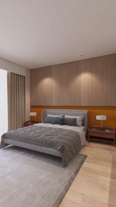 Modern BedRoom Design - Home Design Bedroom Pop Design, Bedroom False Ceiling Design, Master Bedroom Interior, Modern Master Bedroom, Contemporary Bedroom, Furniture Design For Bedroom, Bedroom Designs, Indian Bedroom Design, Luxury Bedroom Design