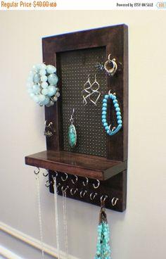 Plug Jewelry Organizer Display Bracelet Rack Neclace Holder115x