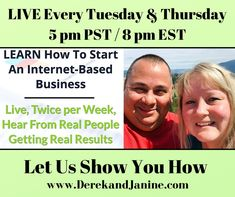 Want To Have An Income That Generates While You Are Enjoying Life? Complimentary Live Online Workshop Tuesday & Thursday. 5pm PST / 8pm EST. It Will Explain Our Business That Allows You To Do Just That! Register Your Spot Here ⬇️⬇️⬇️ www.derekandjanine.com Replay available anytime! We look forward to working with you! Cheers! Derek & Janine #DerekandJanine #DJGetLivingNow #StartLivingYourBestLifeNow #DreamBigLiveBigger #LaptopLifestyle #DigitalBusiness #AskUsHow #TakeActionNow Your Best Life Now, Law Enforcement Agencies, Enjoying Life, Working People, Early Retirement, Replay, Online Work, Real People, Cheers