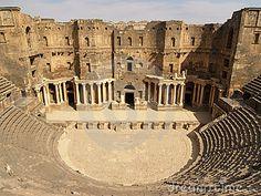 Ancient City of Bosra, Syria. UNESCO World Heritage Site