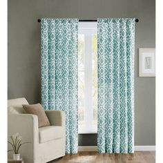 ___$68(1x)___$136(2x)____  ____42x95___$34/panel_____ _____Machine washable______ _____Grommet__________  ________Made in China____   Madison_Park Ella Curtain Panel.  65% polyester/35% cotton, Unlined, Back Tab, Rod Pocket, Fits up to a 1.25-inch diameter rod