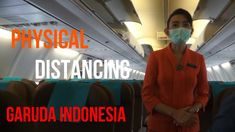 SOCIAL DISTANCING / PHYSICAL DISTANCING DI GARUDA INDONESIA