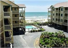 Condo vacation rental in Carolina Beach   pool