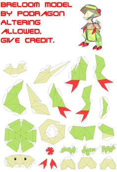 Pokemon Papercraft Templates | Easy Pokemon Papercraft http://kootation.com/papercraft-pokemon-page-2 ...