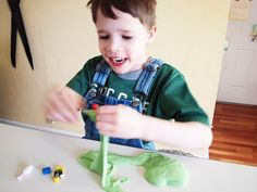 <b>DIY</b> therapy putty: add more starch for more resistance. <b>Fidget</b> toy for ...