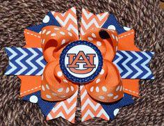 Auburn University Auburn Tigers Boutique Hair Bow