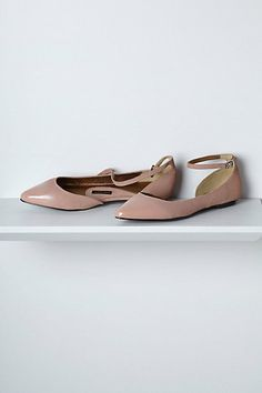 Glossed D'Orsay Skimmers #anthropologie | all colours approved!!!  mint, rose, tray, black | $118