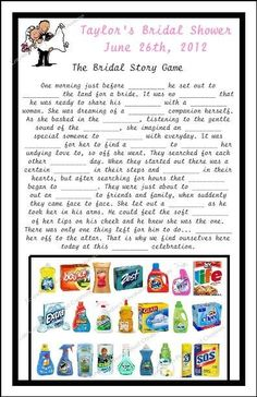 fun game will be a hit at your next wedding shower or bridal wedding giftswedding poemswedding