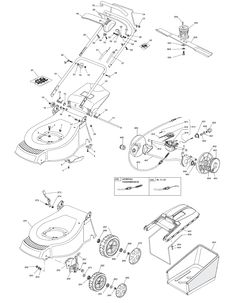 Mountfield M480R ES Spares and Spare Parts Diagrams Type