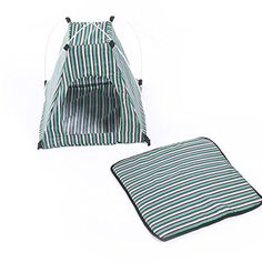 UEETEK Cat Dog Puppy Tent Indoor Outdoor Breathable Sun Shelter House for Pets Green ** Check this awesome product by going to the link at the image.-It is an affiliate link to Amazon. #DogCarrierTravel