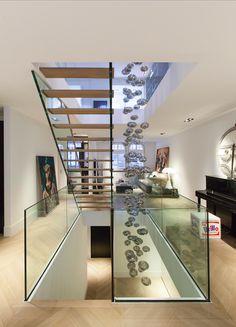 Staircase design by Studio Jan des Bouvrie.  #staircase #design #staircasedesign. #amsterdam #interiordesign