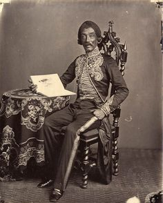 Portrait of Raden Saleh, the Indonesian artist - 1872