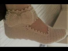 Tunus İşi Babet Patik Nasıl Yapılır? - tunus işi örgü modelleri - tığ şiş örgü - YouTube